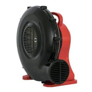 1/2 HP Indoor Outdoor Inflatable Blower Fan for Holiday Party Decoration Bounce House Jumper Game and Display Structures