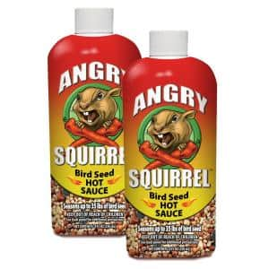 8 oz. Angry Squirrel Bird Seed Hot Sauce (2-Pack)