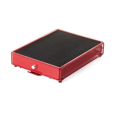 Appliance Rolling Drawer Red Dispenser Coffee Pod Storage