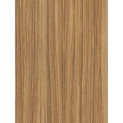 5 ft. x 12 ft. Laminate Sheet in Zebrawood with Premium Linearity Finish