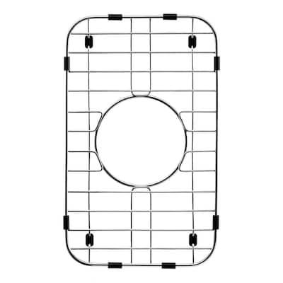 Wirecraft 13.88 in. x 8.44 in. Bottom Grid for Kitchen Sinks in Stainless Steel