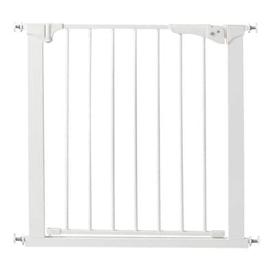 29.5 in. H Pressure Mount Gate Gateway in White