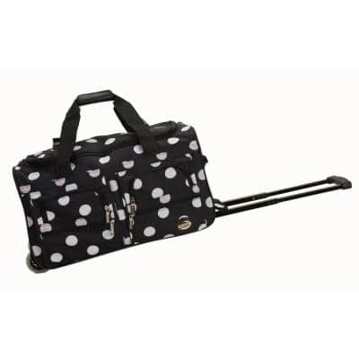 Voyage 22 in. Rolling Duffle Bag, Blackdot