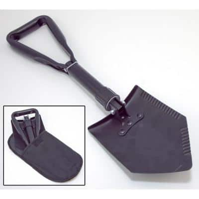 Heavy-Duty Tri-Fold Recovery Shovel Multi-Use for Offroad