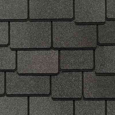 Woodland Castlewood Gray Designer Laminated Architectural Shingles (25 sq. ft. per Bundle) (14-pieces)