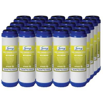 LittleWell 5 Micron 2.5 in. x 10 in. Granular Activated Filter Cartridge (25-Pack)