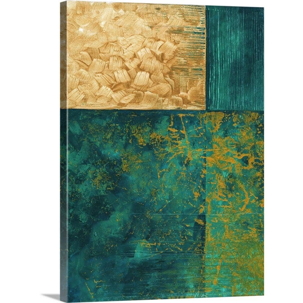Greatbigcanvas 30 In X 40 In Gold Passion Ii By Megan Duncanson Canvas Wall Art 2441118 24 30x40 The Home Depot