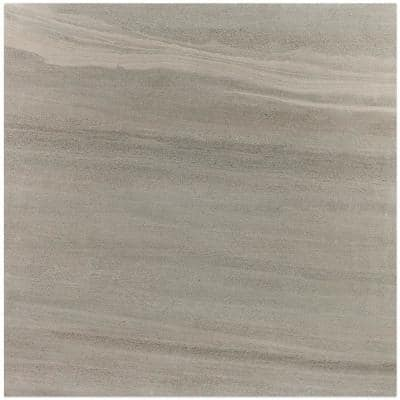 Essential Gritstone Ash 24 in. x 24 in. Matte Porcelain Floor and Wall Tile (15.49 sq. ft. / case)