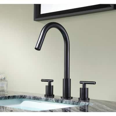 Spartan 8 in. Widespread 2-Handle Bathroom Faucet in Oil Rubbed Bronze