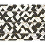 Marbled Textured Geometric Wall Mural