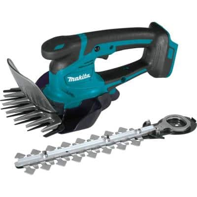 18V LXT Lithium-Ion Cordless Grass Shear with Hedge Trimmer Blade, Tool Only