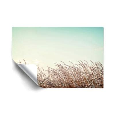 """""""Retro Grass"""" Landscapes Removable Wall Mural"""