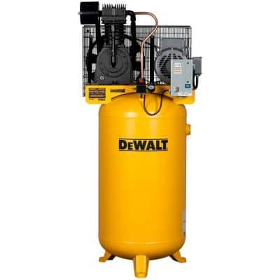 80 Gal. 7.5-HP 175 PSI 2-Stage Stationary Electric Air Compressor