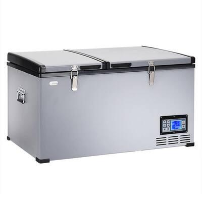 84 Qt. Portable Electric Car Cooler Refrigerator/Freezer Compressor Camping