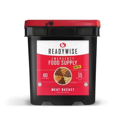 60-Serving Protein/All Meat Grab-and-Go Bucket
