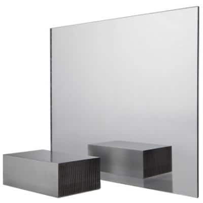 48 in. x 96 in. x 1/8 in. Mirror Acrylic Sheet