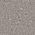 4 in. x 4 in. Stone Effect Vanity Top Sample in Mineral Gray
