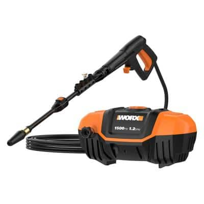 1500 PSI 1.2 GPM 13 Amp Cold Water Electric Pressure Washer, Portable