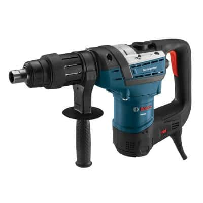 12 Amp 1-9/16 in. Corded Concrete/Masonry Variable Speed Spline Combination Rotary Hammer with Carrying Case