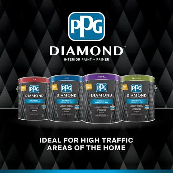 Reviews For Ppg Diamond 1 Gal Hdgr03u Frosted Pink Semi Gloss Interior Paint With Primer Hdgr03ud 01sn The Home Depot