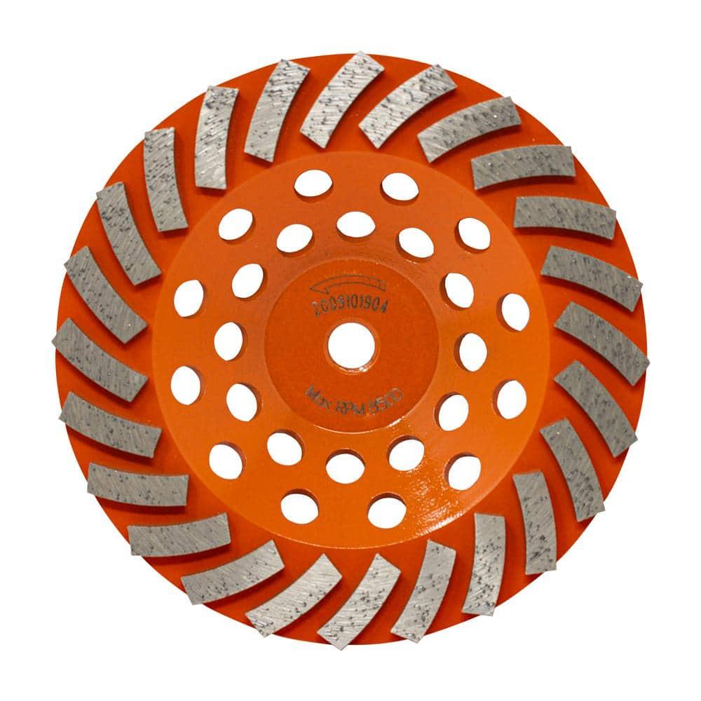 SHARS 6X1//2 D1A1 Diamond Wheel 100 GRIT 505-3342 P 