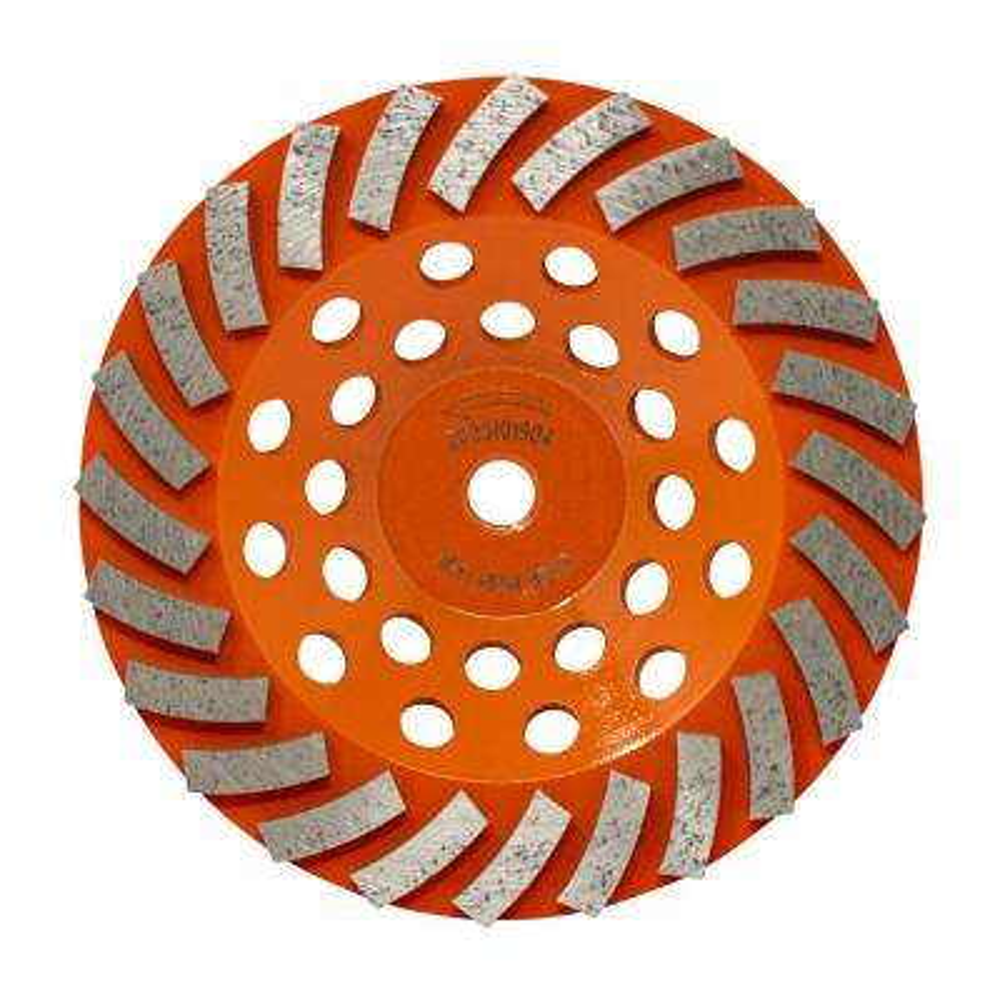 7 in. 24-Segment Turbo Cup Grinding Wheel