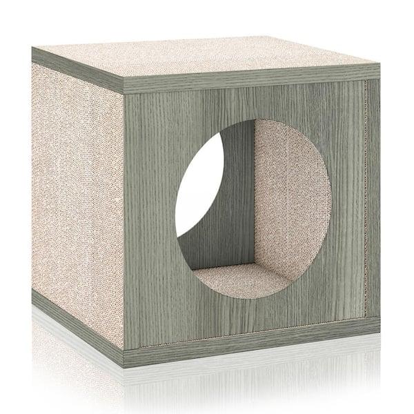 Way Basics Eco Zboard Grey Stackable, Eco Cat Furniture