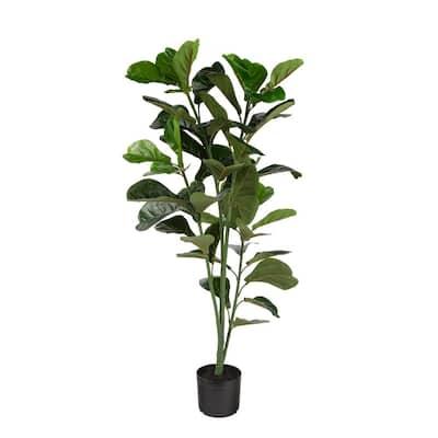 Fiddle Leaf Fig 47 in. Indoor/Outdoor Artificial