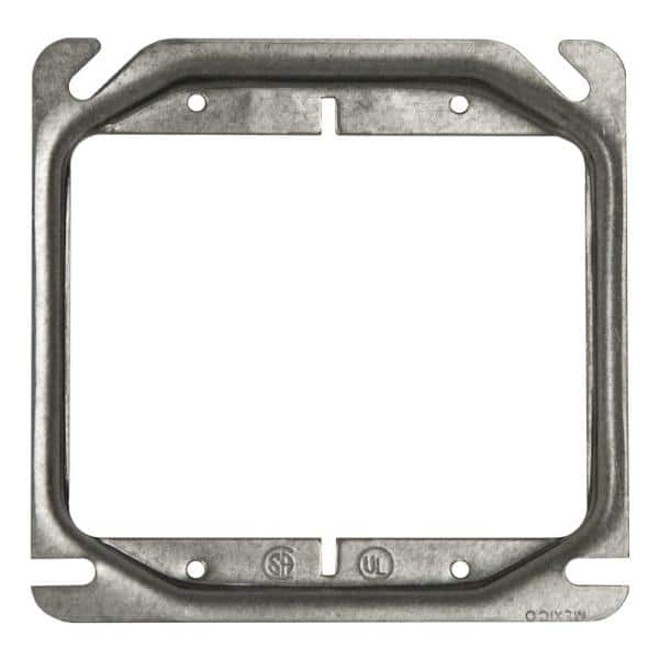 Raco 4 In Square 2 Device Cover 5 8 In Raised 8769 The Home Depot
