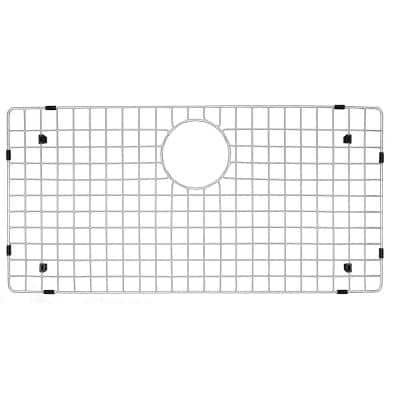 28-1/4 in. x 14-1/4 in. Stainless Steel Bottom Grid Fits QT-712 / QT-712