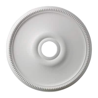 Brittany 19 in. White Ceiling Medallion