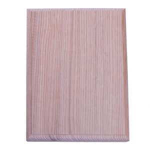 4-1/2 in. x 6 in. Unfinished Hemlock Craftsman Rosette