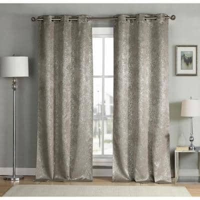 Mouse Thermal Grommet Blackout Curtain - 38 in. W x 96 in. L