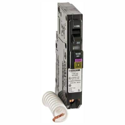 QO 20 Amp Single-Pole Dual Function (CAFCI and GFCI) Circuit Breaker (6-Pack)