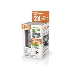 4.5 oz. Each Home Defense Perimeter Protection Repellent Candles (2-Pack)