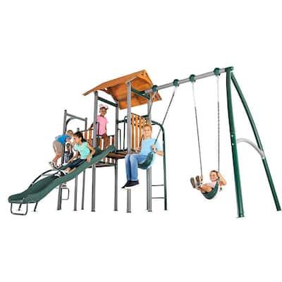 Big Ridge Metal Swing Set