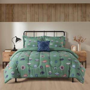 Field Adventure 4-Piece Comforter Set