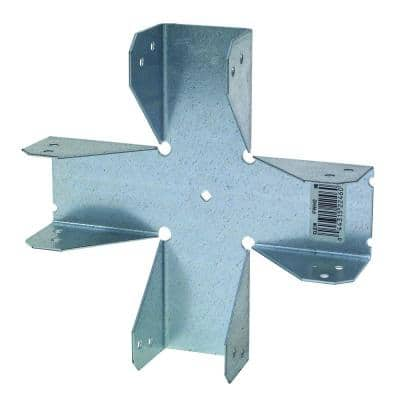 FWH 18-Gauge Four-Way Connector for 2x Nominal Lumber