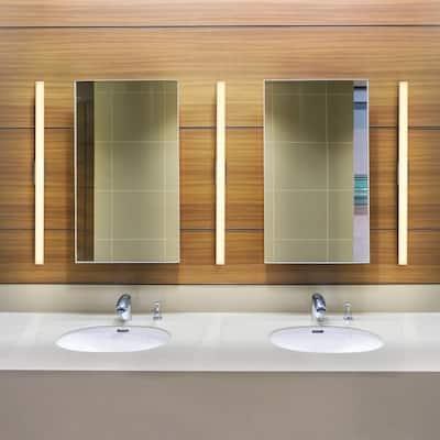 Procyon VMW11236AL 36 in. Silver LED Vanity and Bathroom Lighting Fixture