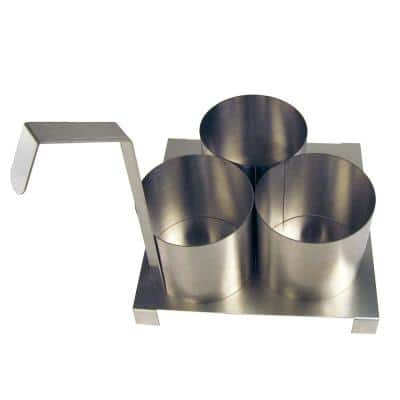 4-1/2 in. Funnel Cake Mold Ring with Base Plate