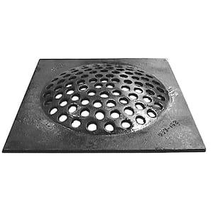 10 in. x 10 in. Square Cast Iron Cesspool Drain Grate