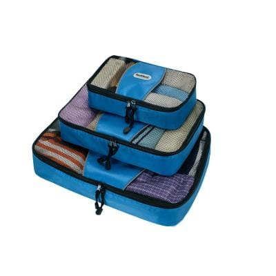 Packing Cubes-Set of 3, Blue