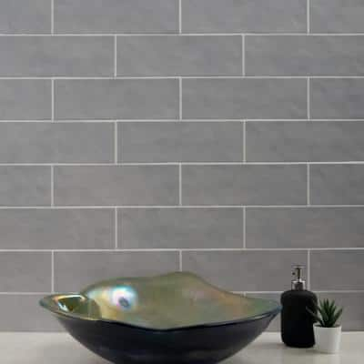 Strata Hexagon 12 in. x 12 in. x 10mm Matte Ceramic Mesh-Mounted Mosaic Tile (1 sq. ft.)