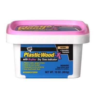 Plastic Wood-X with DryDex 16 oz. All-Purpose Wood Filler