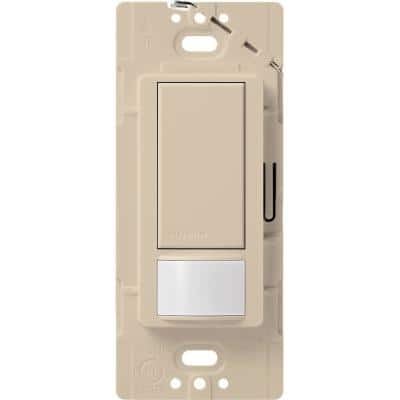Maestro Motion Sensor Switch, 2-Amp, Single-Pole, Taupe