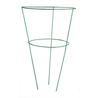 30 in. Heavy Duty Evergreen Peony Plant Support (5-Pack)