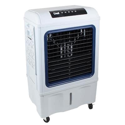 2100 CFM 3-Speed Portable Evaporative Cooler for 1000 sq.ft.