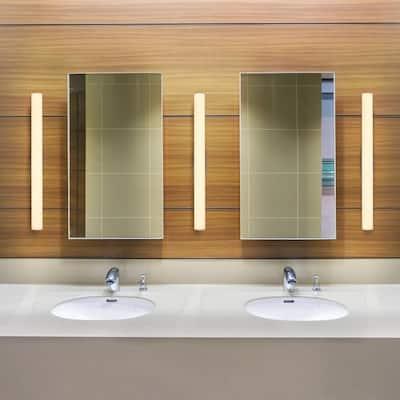 Procyon VMW11600AL 24 in. Silver LED Vanity and Bathroom Lighting Fixture