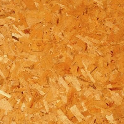 7/16 in. 4 ft. x 9 ft. Oriented Strand Board