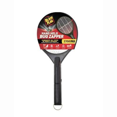 Portable Handheld Bug Zapper Insect Killer Racket, Black